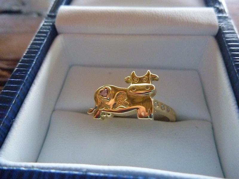 Cow Wedding Rings Image Of Ring Enta