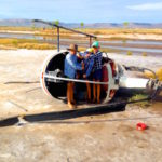 3.8 RIP R22 - lucky the pilot lived on! With my brother Marcus & cousin Romulus copy