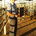 Blog 3.1 Kevin at home in the cattle yards copy