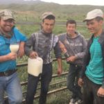 Cowboys and I drinking fermented horse milk copy
