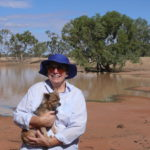 4.1 Beryl and Holly by Cardenyabba Lagoon. copy