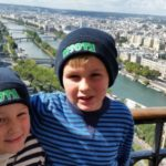 5.4 Jakob & Josh 2014 in their MSOTA beanies on the Eiffel Tower, Paris copy
